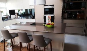 picture of kitchen in london after refurbishment completed by pb builder