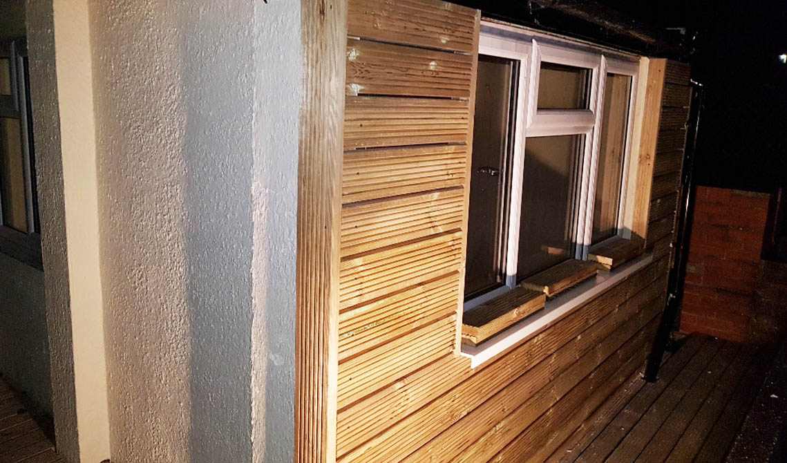 carpentry london service side wall decking pb builder