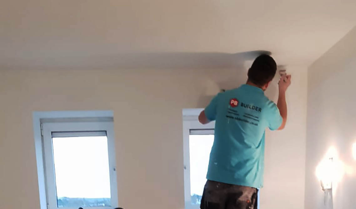 painting and decorating london service painter work pb builder