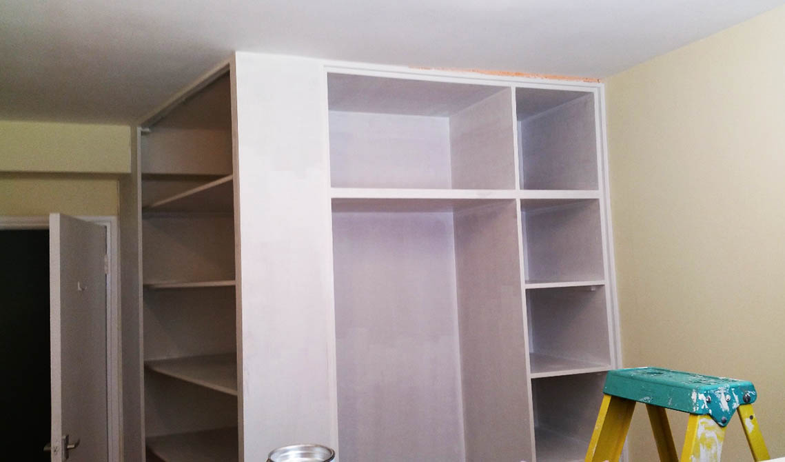 painting and decorating london services interior wardrobe pb builder