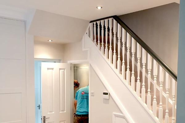 picture of house interior during refurbishment work by pb builder in calpham south