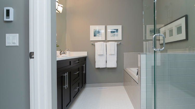 picture of a bathroom after refurbishment and fitting
