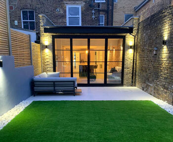 picture of rear house extension build by PB Builder in Sutton London